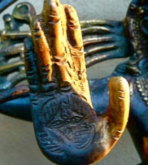 holy hand chakra - Shiva