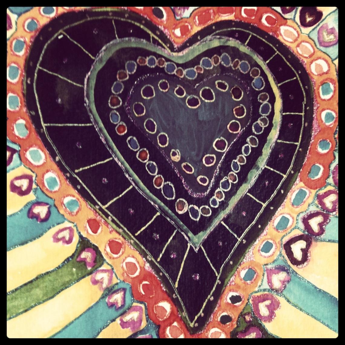 black heart (c) 2013