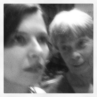 self-portrait with mom (c) 2013 Holly Troy