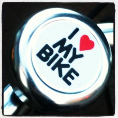 I <3 my Bike! (c) Holly Troy