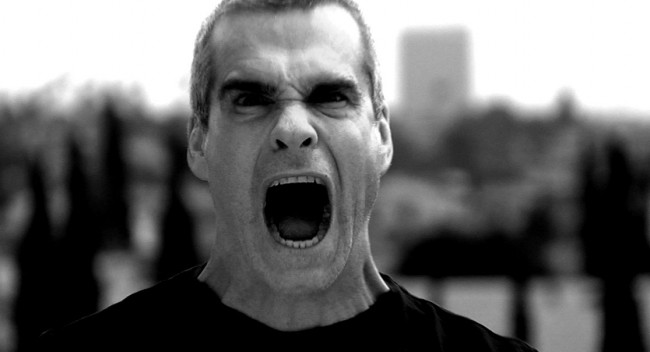 Henry Rollins - photographer unknown