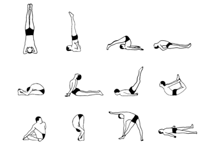 Sivananda - 12 Basic Asanas