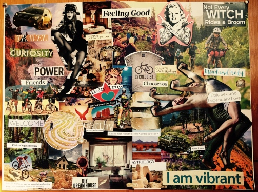 vision board © 12.2017 Holly Troy