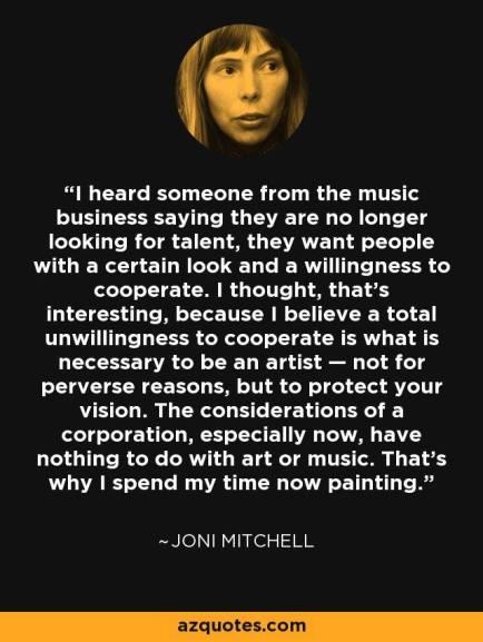 joni mitchell quote