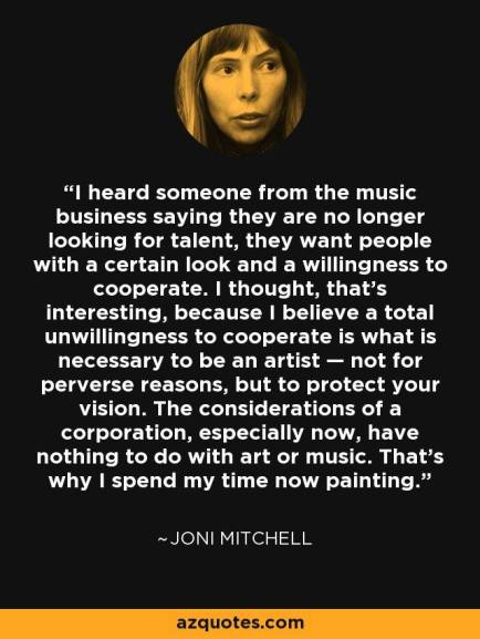 joni mitchell quote
