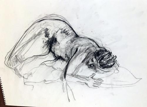 nude sketch cca 2018
