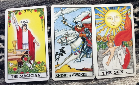 knight of swords and sun