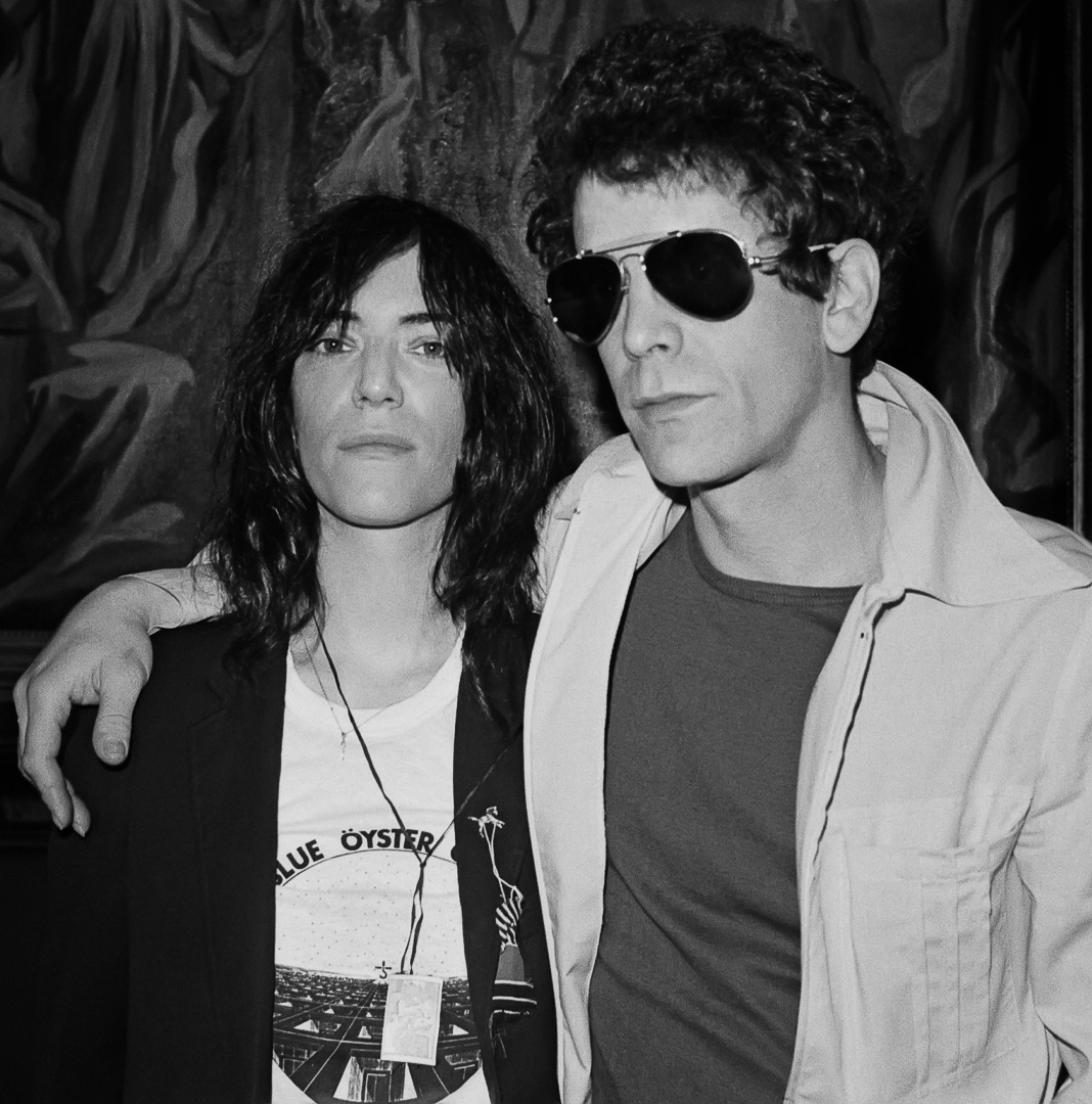 Patti-Smith-and-Lou-Reed-1977 - Lynn Goldsmith