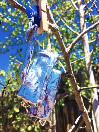 shiny prayer ties © 5.23.2020 Holly Troy