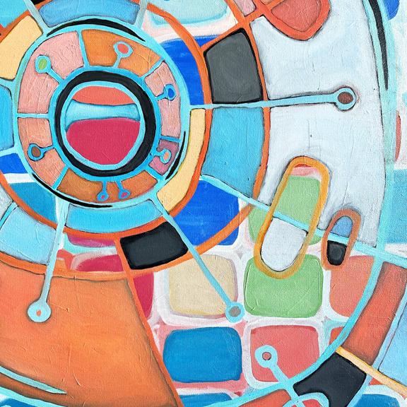 cosmic clock detail 2 b © Holly Troy 6.2021