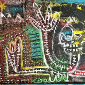 for the love of basquiat - from Paul Perreault's - awfully good art colleciton